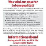 Einladung zum Informationsabend in Hagen