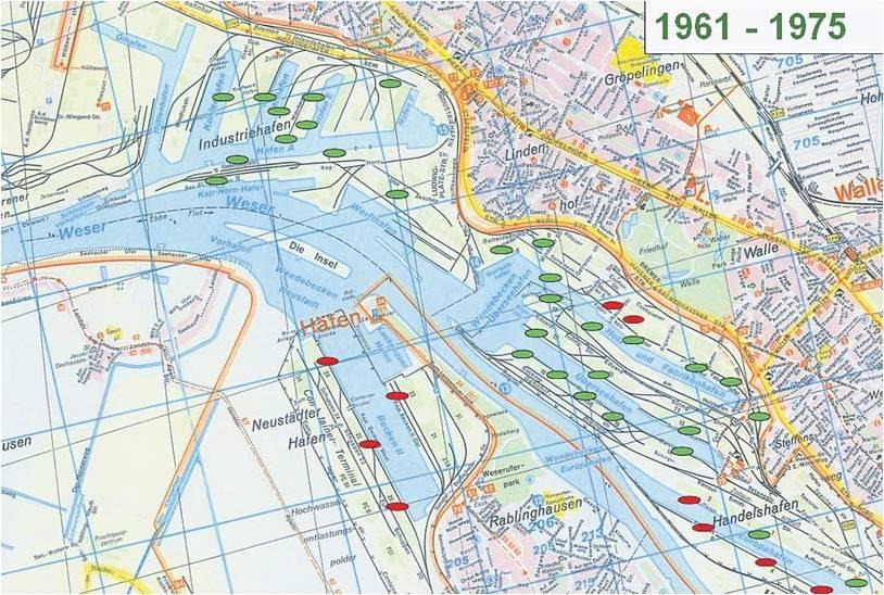 Hafenkarte Bremen Asbest