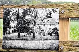 Die ehemalige Villa Haidpark am Weißenberg, erbaut 1850 von Hermann Joppert, nach einer erhaltenen Fotografie. Foto Luise Bär