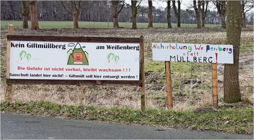 Naherholung statt Deponie: Die Gegner des Freimuth-Projektes schöpfen nach der Ratsentscheidung neue Hoffnung. Foto Kistner