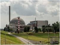 Das stillgelegte Atomkraftwerk Stade. Radioaktiver Bauschutt kommt auf eine Deponie in Sachsen. (Foto: Gärmer)