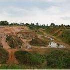 Die Sandkuhle in Driftsethe: Das Unternehmen Freimuth will hier eine Bauschuttdeponie errichten. Dafür muss der Boden mit Raupengerät untersucht werden. Die Bürgerinitiative will das verhindern. Archivfoto privat