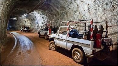 Der Schacht Konrad bei Salzgitter: Die Fertigstellung des Endlagers lässt weiterhin auf sich warten. Foto Spata