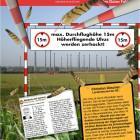 Maximale Durchflughöhe 15m, Höherfliegende Uhus werden zerhackt! Foto Heinze