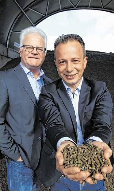 Thomas Leschke (l.) und Benjamin Kreie teilen sich den Chefsessel. Foto Koch