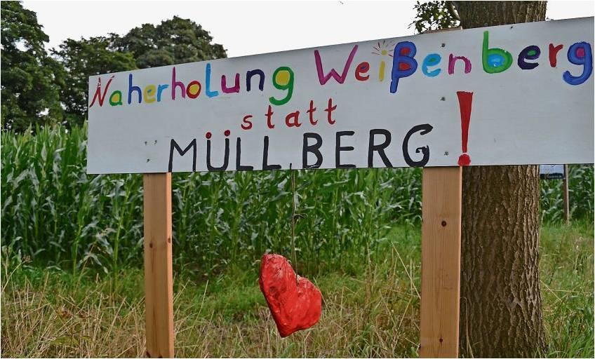 Mit dem Naherholungsgebiet direkt neben der geplanten Deponie will die Gemeinde den Bauschutt-Berg bei Driftsethe verhindern. Foto Hansen