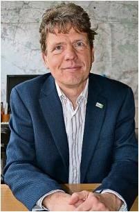 Strahlung ist Strahlung, sagt BUNDGeschäftsführer Bernd Quellmalz – auch wenn sie geringer ist als zehn Mikrosievert. Foto Hansen