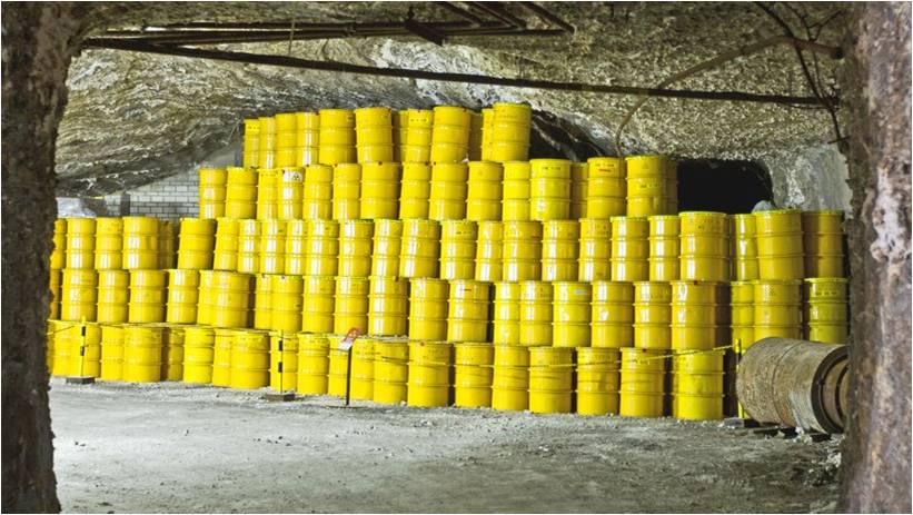 Ein Endlager für schwach und mittelradioaktiven Atommüll in Morsleben (Bördekreis) Foto Jens Wolf/dpa