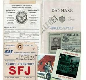 Erik Jørgen-Jensens Ausweispapiere aus den 1960er-Jahren Bild Jacob Grosen